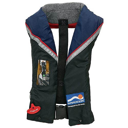 Stearns 2000004046 SOSpenders 33 Gram Auto/Manual Inflatable Life Vest