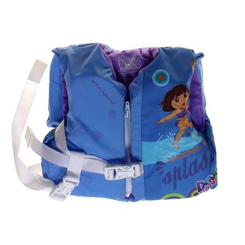 Stearns 2000013504 Nickelodeon Dora the Explorer Infant Life Jacket Vest