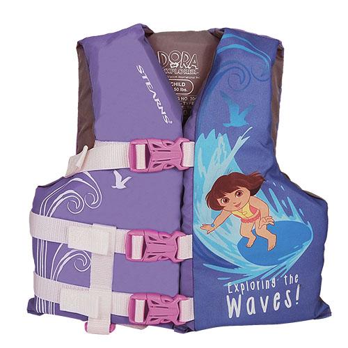 SPSTEARNS2000013506 Nickelodeon Dora the Explorer Kids Life Jacket Vest