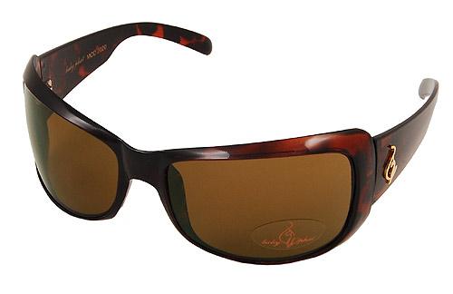 Baby Phat 2020 Tortoise Plastic Logo Sunglasses