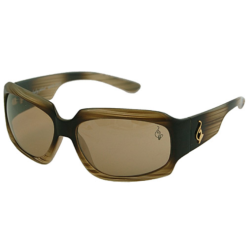 gifts and gadgets store - Baby Phat 2021 Olive Green Striped Plastic Sunglasses - Baby Phat Sunglasses - Fashion