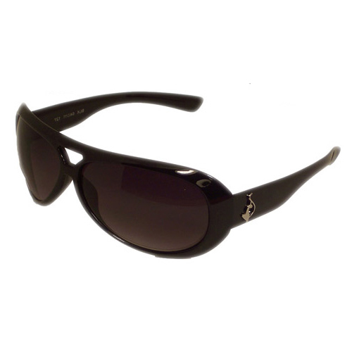 Baby Phat 2022 Black Plastic Aviator Sunglasses - Baby Phat Sunglasses Fashion