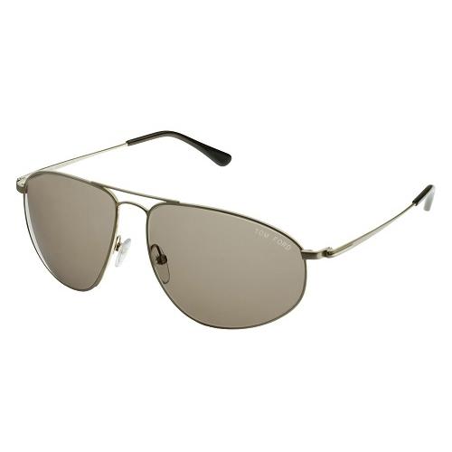 Tom Ford Nicholai Aviator Sunglasses Brown FT0189-28J
