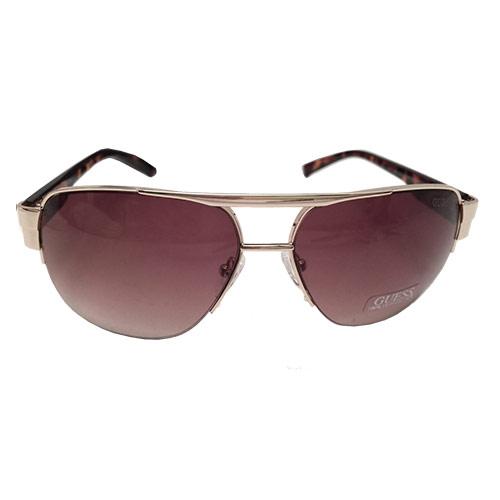 Mens Gold Frame Aviator Sunglasses : Guess GUF 127 GLD-34A Mens Aviator Sunglasses, Tortoise ...