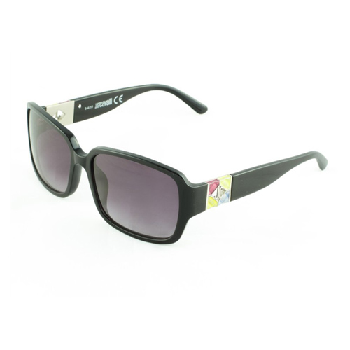Just Cavalli JC 325S 01B Oversized Sunglasses Black - Just Cavalli Sunglasses Fashion