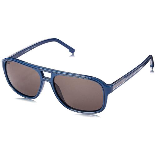 lacoste l742s 424 herren blau abgerundete quadrat kunststoff sonnenbrille. Black Bedroom Furniture Sets. Home Design Ideas