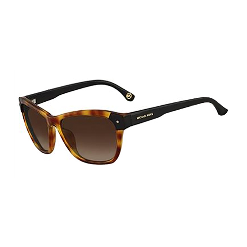 Michael Kors M2853 227 Zoey Amber Tortoise Sunglasses Brown Gradient Lens