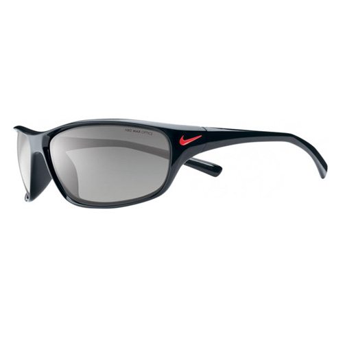 Nike Black Frame Glasses : Nike Rabid EV0603-001 Black Frame Grey Lens Sunglasses eBay
