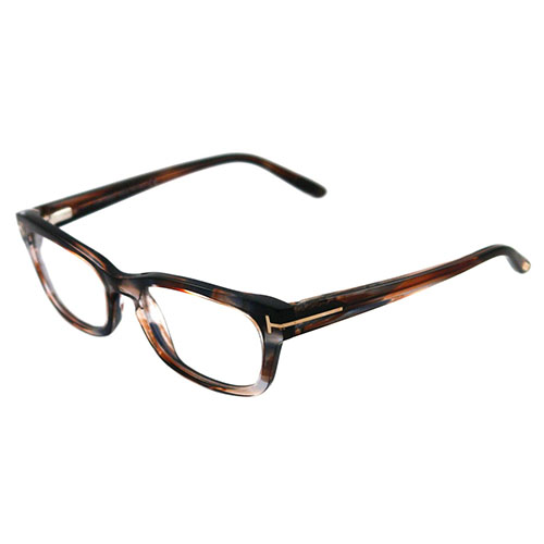Pale Blue Glasses Frames : Tom Ford FT5184 086 Womens Acetate Eyeglasses, Striped ...