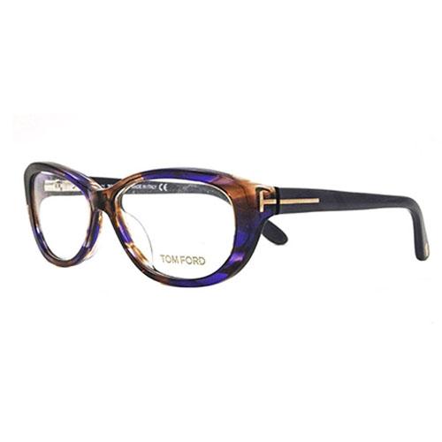 tom ford ft5226 083 womens plastic frames cat eye eyeglasses violet havana