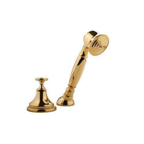 Meridian Faucets 2030520 Hand Held Shower with Diverter (Solid Brass Construction), Gold