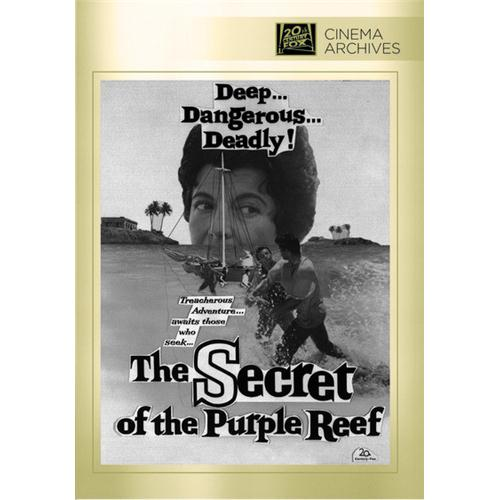 gifts and gadgets store - The Secret Of The Purple Reef DVD Movie 1960 - Drama - Movies and DVDs