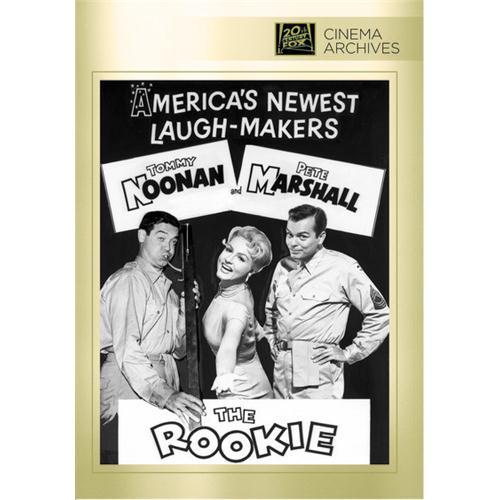 The Rookie DVD Movie 1959 024543830733