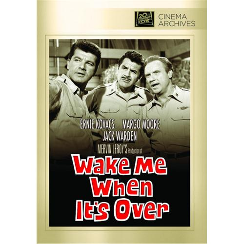 Wake Me When It's Over DVD Movie 1960 024543842149