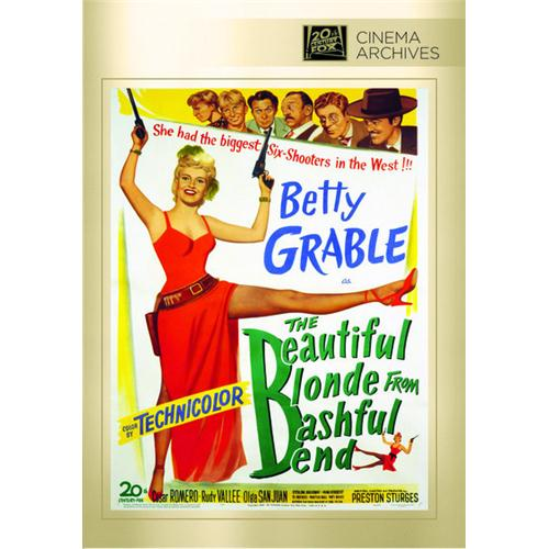 Beautiful Blonde From Bashful Bend DVD Movie 1949 024543863205