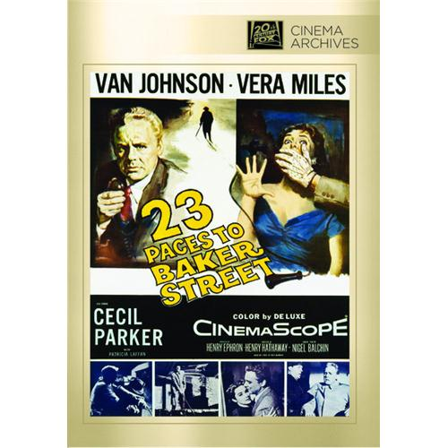 23 Paces To Baker Street DVD Movie 1956