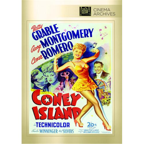 Coney Island DVD Movie 1943 024543873877