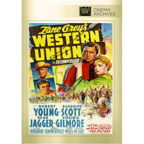 western union dvd movie 1941