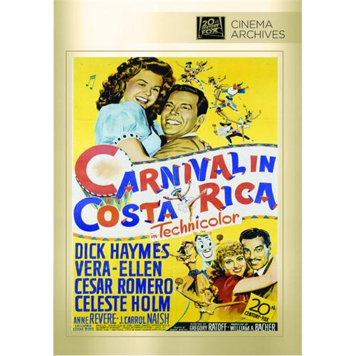 Carnival In Costa Rica DVD Movie 1947 - Comedy Movies and DVDs