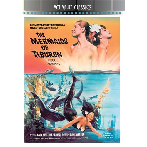 Mermaids Of Tiburon DVD Movie 1962 089859021824