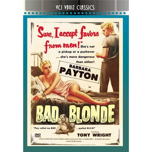 Bad Blonde DVD Movie 1953 - Drama Movies and DVDs