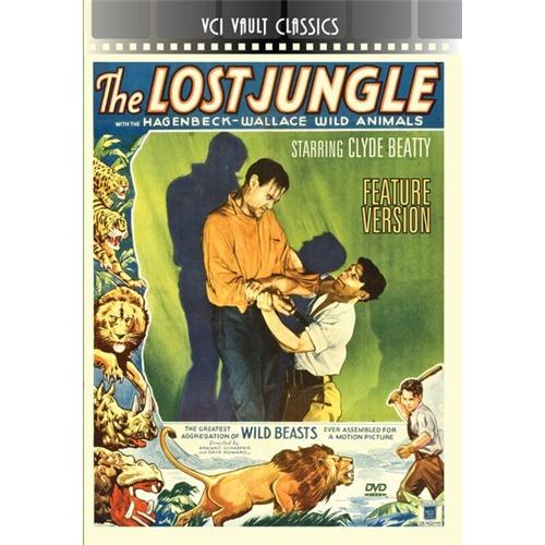 THE LOST JUNGLE (FEATURE VERSION) DVD 089859741326