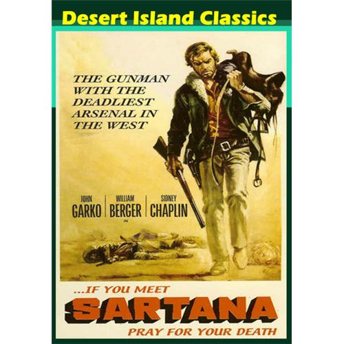 If You Meet Sartana, Pray For Your Death DVD Movie 1968 639767538428