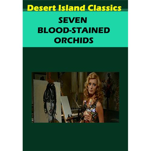 Seven Blood-Stained Orchids DVD Movie 1972 639767538640