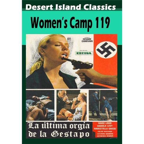 Woman's Camp 119 DVD Movie 1977 6.61799E+11