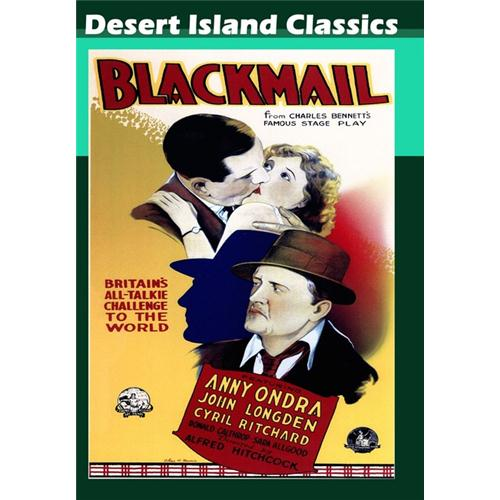 Blackmail DVD Movie 1929 - Mystery and Suspense Movies and DVDs