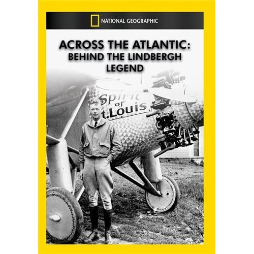 Across the Atlantic: Behind the Lindbergh Legend DVD - Documentary Movies and DVDs
