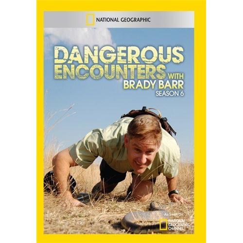 Dangerous Encounters with Brady Barr Season 6 - (2 Discs) DVD 727994953876