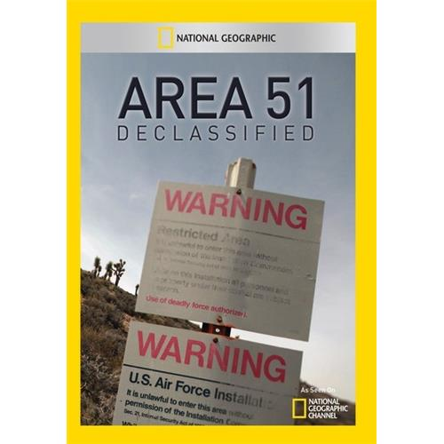 Area 51 Declassified - Documentary Movies and DVDs
