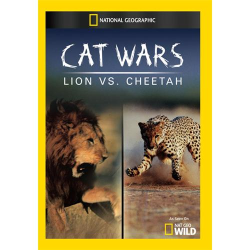 Cat Wars: Lion Vs. Cheetah DVD Movie - Documentary Movies and DVDs
