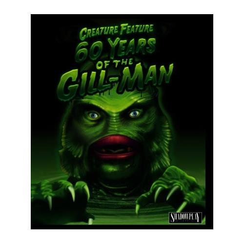 Creature Feature: 60 Years of the Gill-Man (BD) BD-25 737088096426