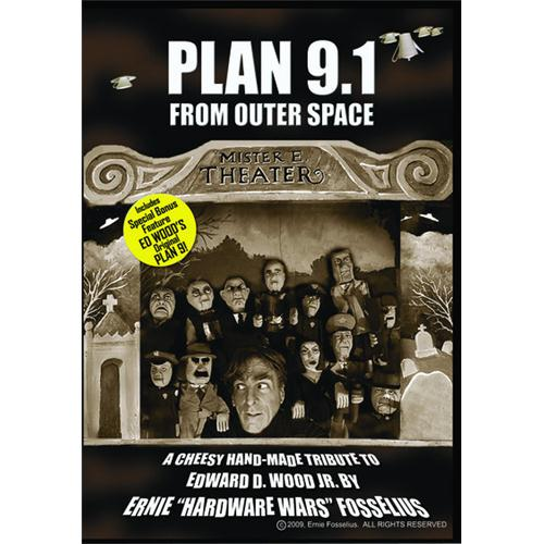 Plan 9.1 From Outer Space / Plan 9 From Outer Space DVD Movie 2010/1959
