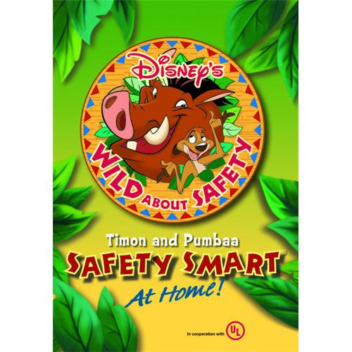 Disneys Wild About Safety(R) With Timon And Pumbaa: Safety Smart(R) At Home! DVD Movie 2008