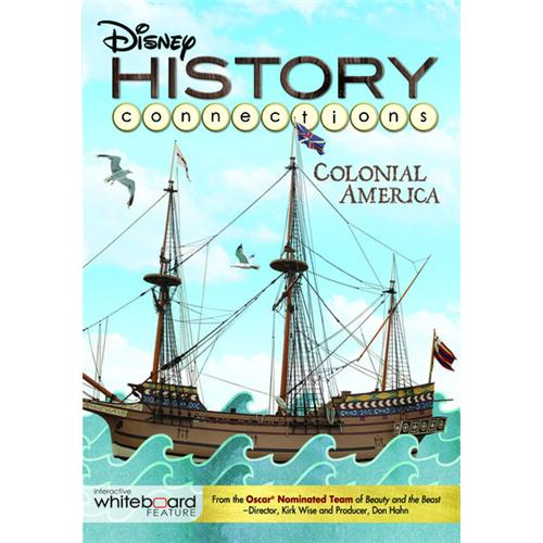 gifts and gadgets store - History Connections:Colonial America DVD Movie 2011 - Kids and Family - Movies and DVDs