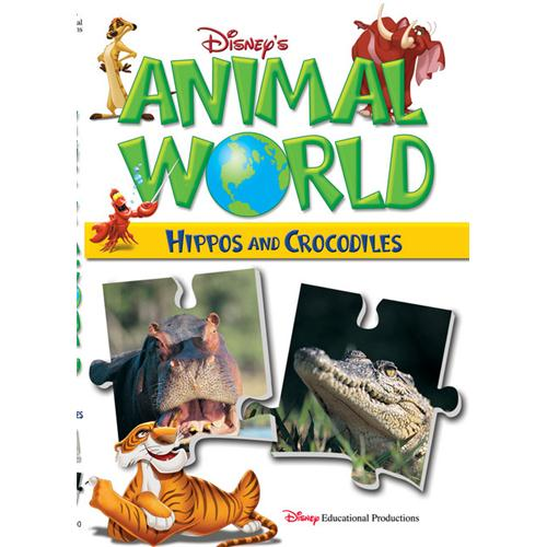 Animal World:Hippos&Crocodiles DVD Movie 2003 - Kids and Family Movies and DVDs