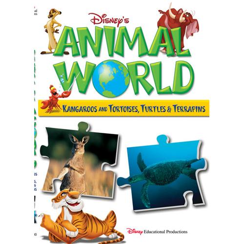 Animal World:Kangaroos,tortoises&Turtles DVD Movie 2003 - Kids and Family Movies and DVDs