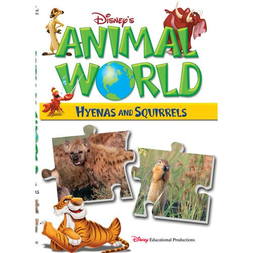 Animal World:Hyenas&Squirrels DVD Movie 2003 - Kids and Family Movies and DVDs