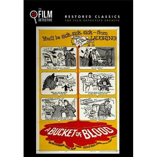 A Bucket of Blood DVD-5 818522011820