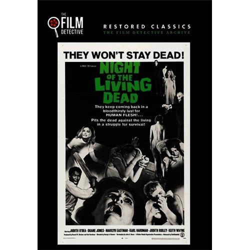 Night of the Living Dead DVD-5 818522011950