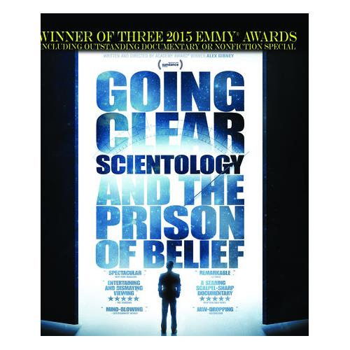 Going Clear: Scientology and the Prison Of Belief - The HBO Special (BD) BD-25 818522012353