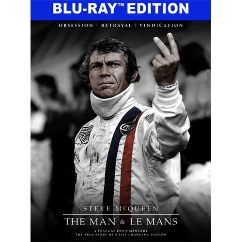 Steve McQueen: The Man & Le Mans (BD) BD-25 818522012643