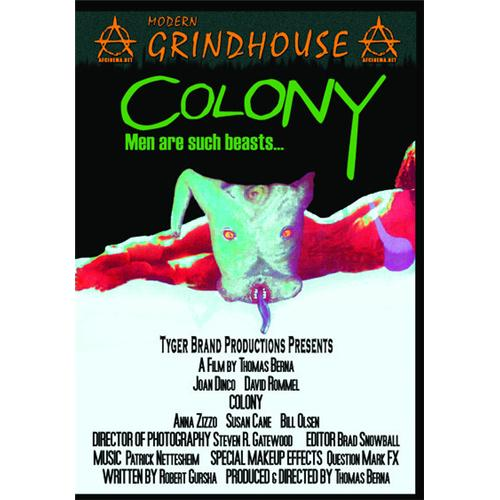 Colony DVD Movie 1996 - Horror Movies and DVDs
