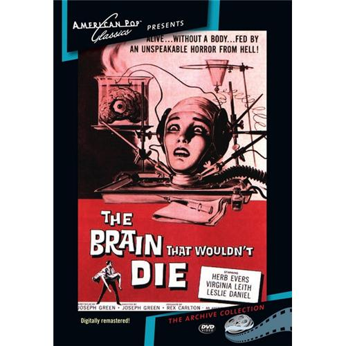 The Brain That Wouldn't Die DVD Movie 1962 874757011998