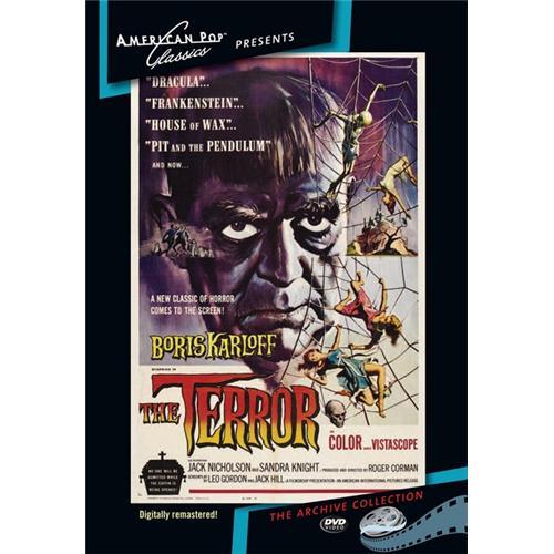 The Terror DVD Movie 1963 874757013190