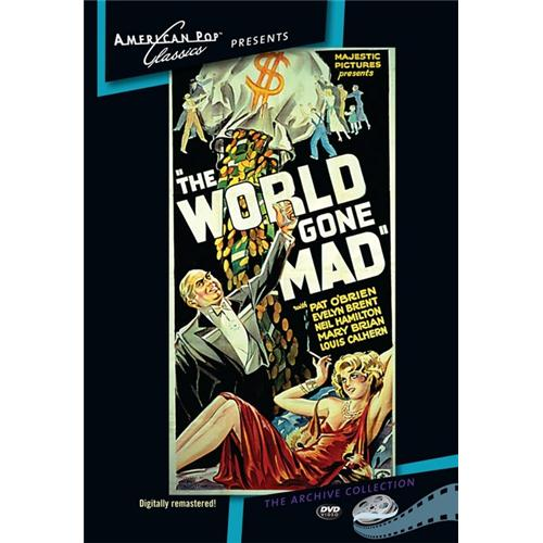 The World Gone Mad DVD Movie 1933 874757014296