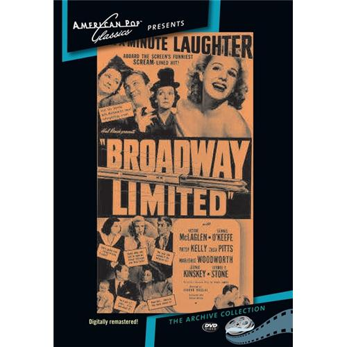 Broadway Limited DVD Movie 1942 - Comedy Movies and DVDs